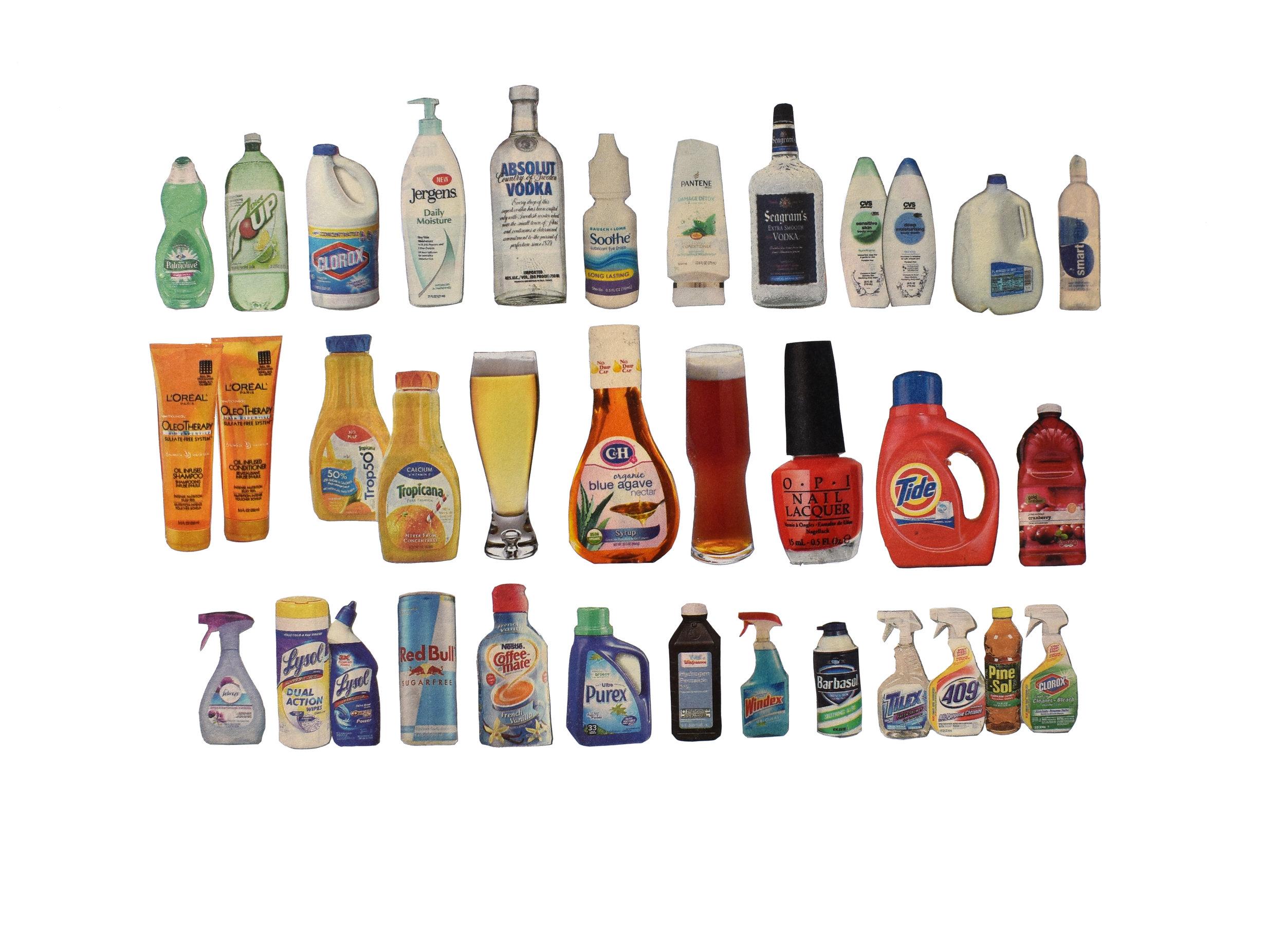 "Liquids 9""x12"" 2015   Purchase"