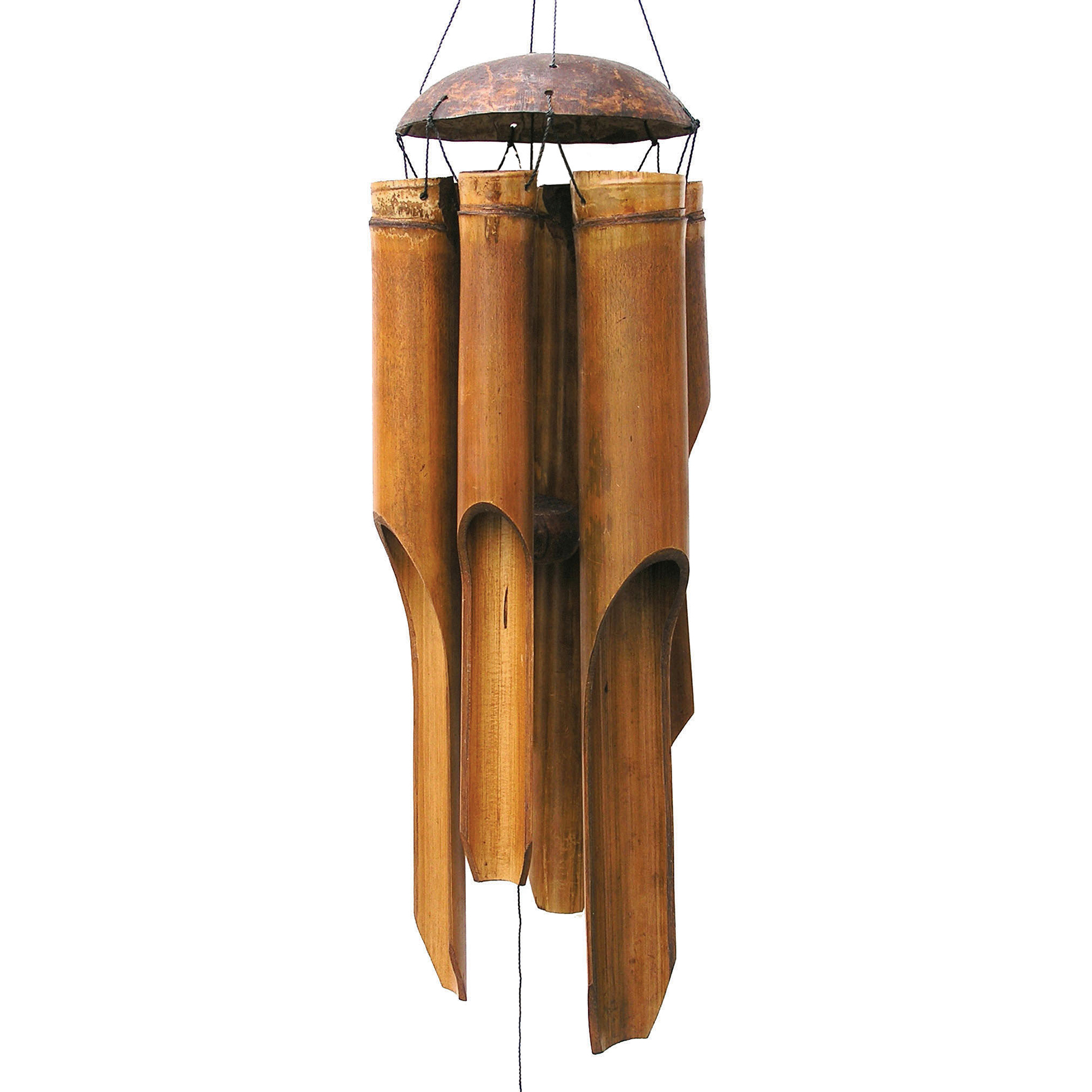 132, 133, 134 - Antique Simple Bamboo Wind Chime
