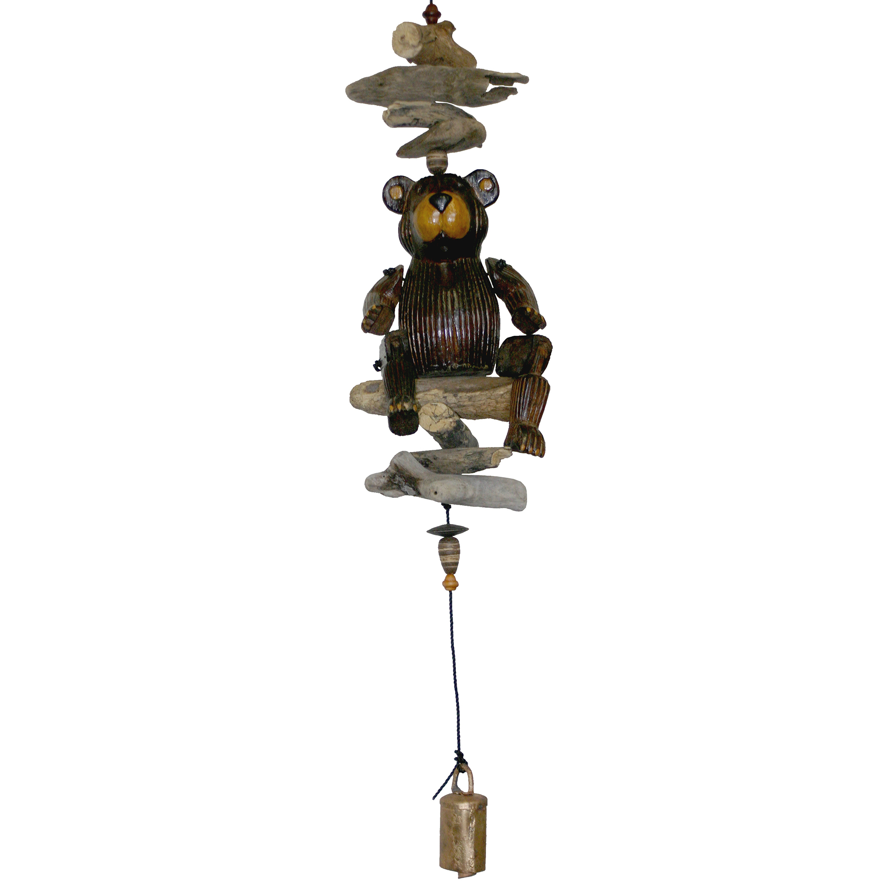 550P - Barry Puppet Bear Cohasset Bell