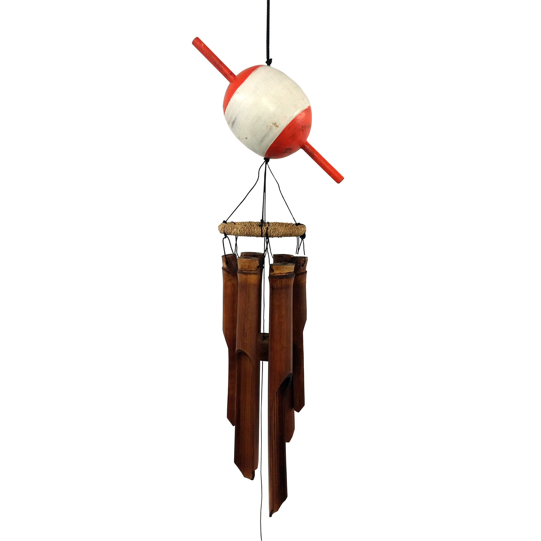 231 - Fish Float Bamboo Wind Chime