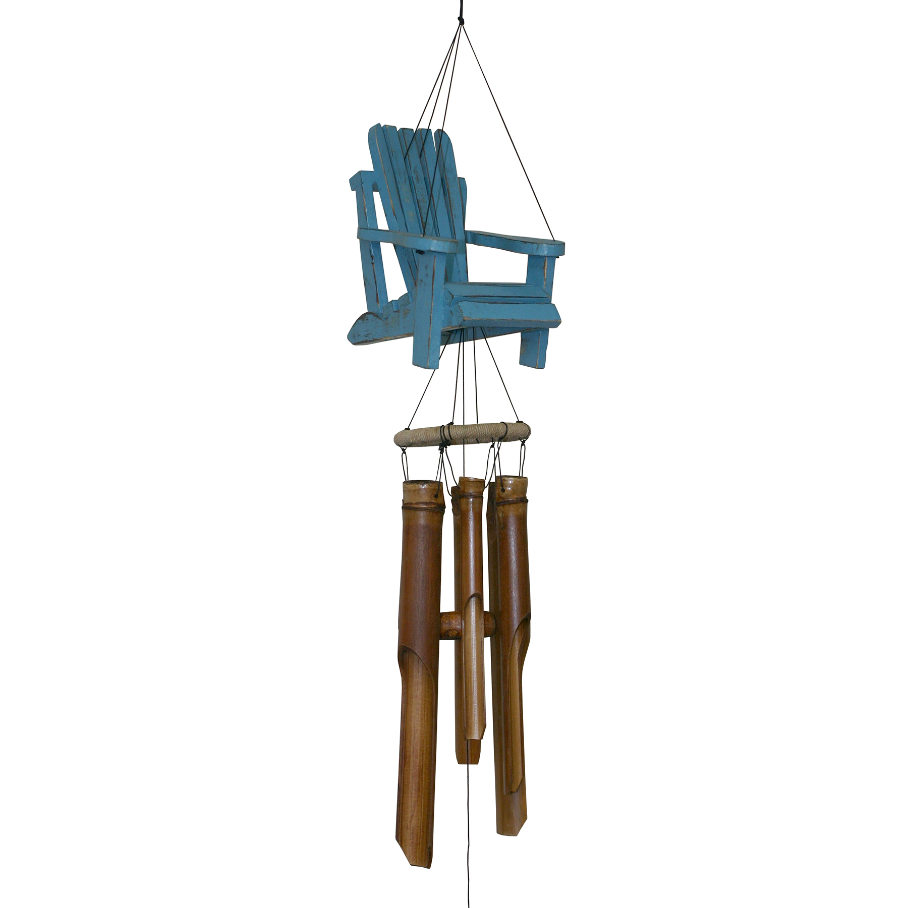 299 - Beach Chair Bamboo Wind Chime