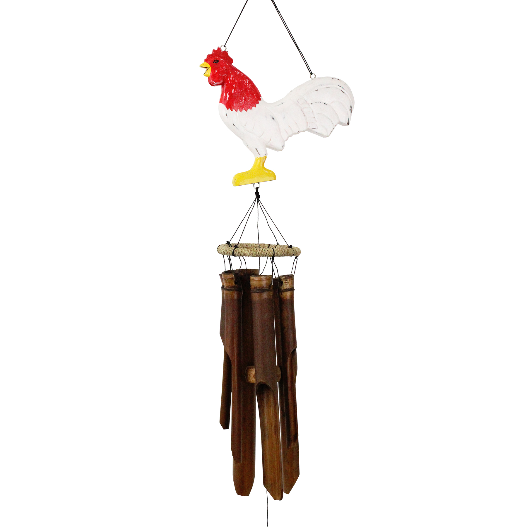 146B - Blizzard Chicken Silhouette Bamboo Wind Chime
