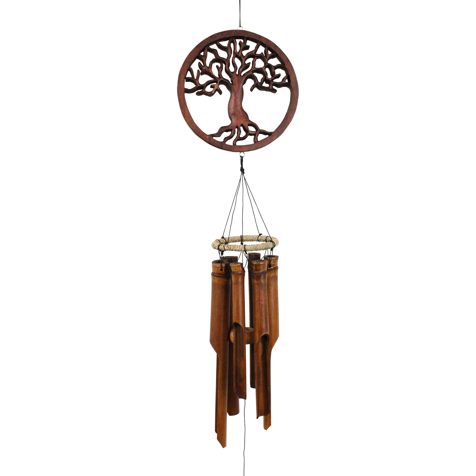 272 - Tree of Life Bamboo Wind Chime