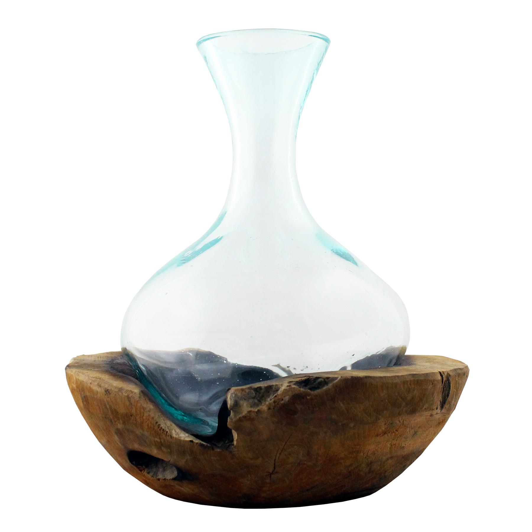 661-36 Molten Glass Decanter