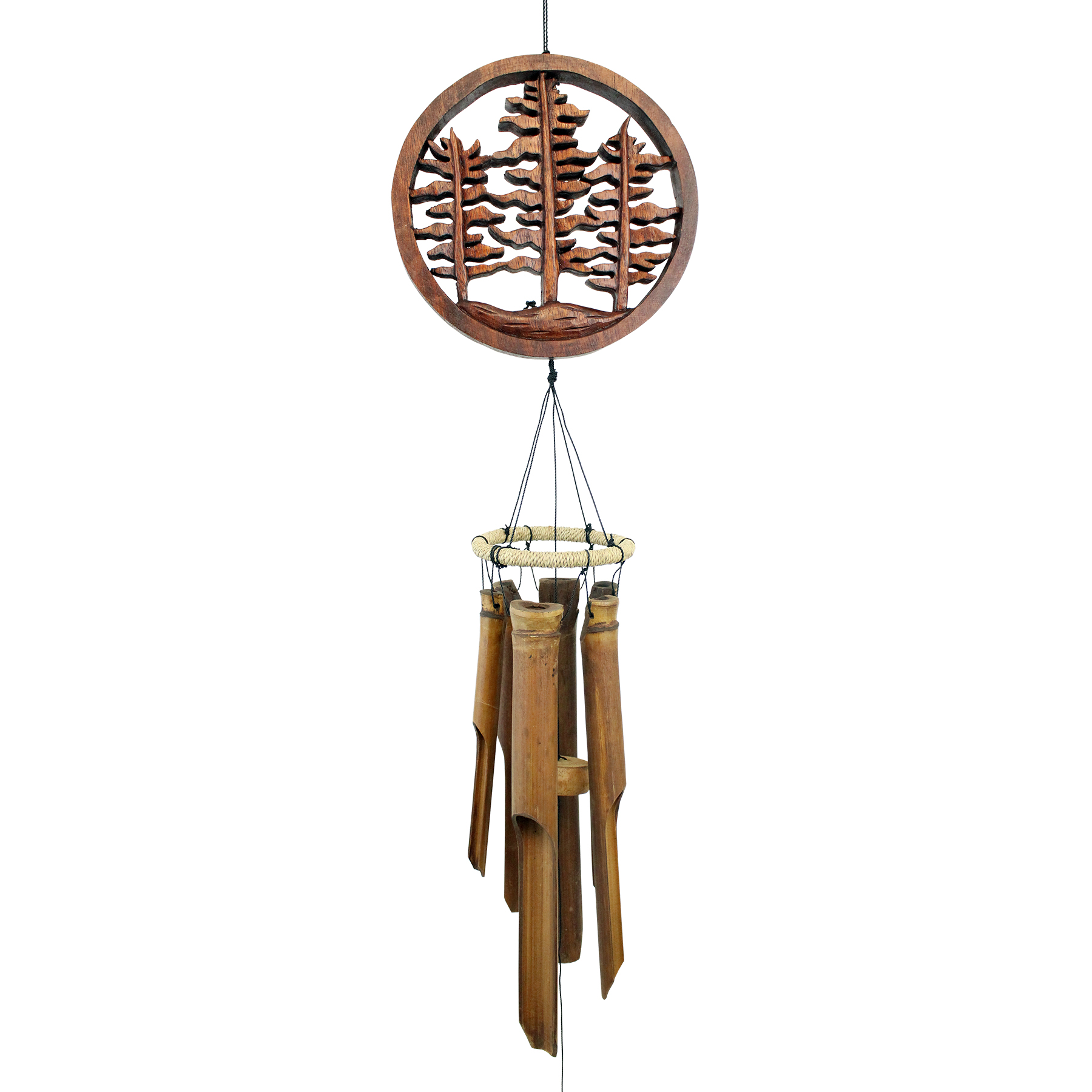 #272F - Forest Trees Bamboo Wind Chime