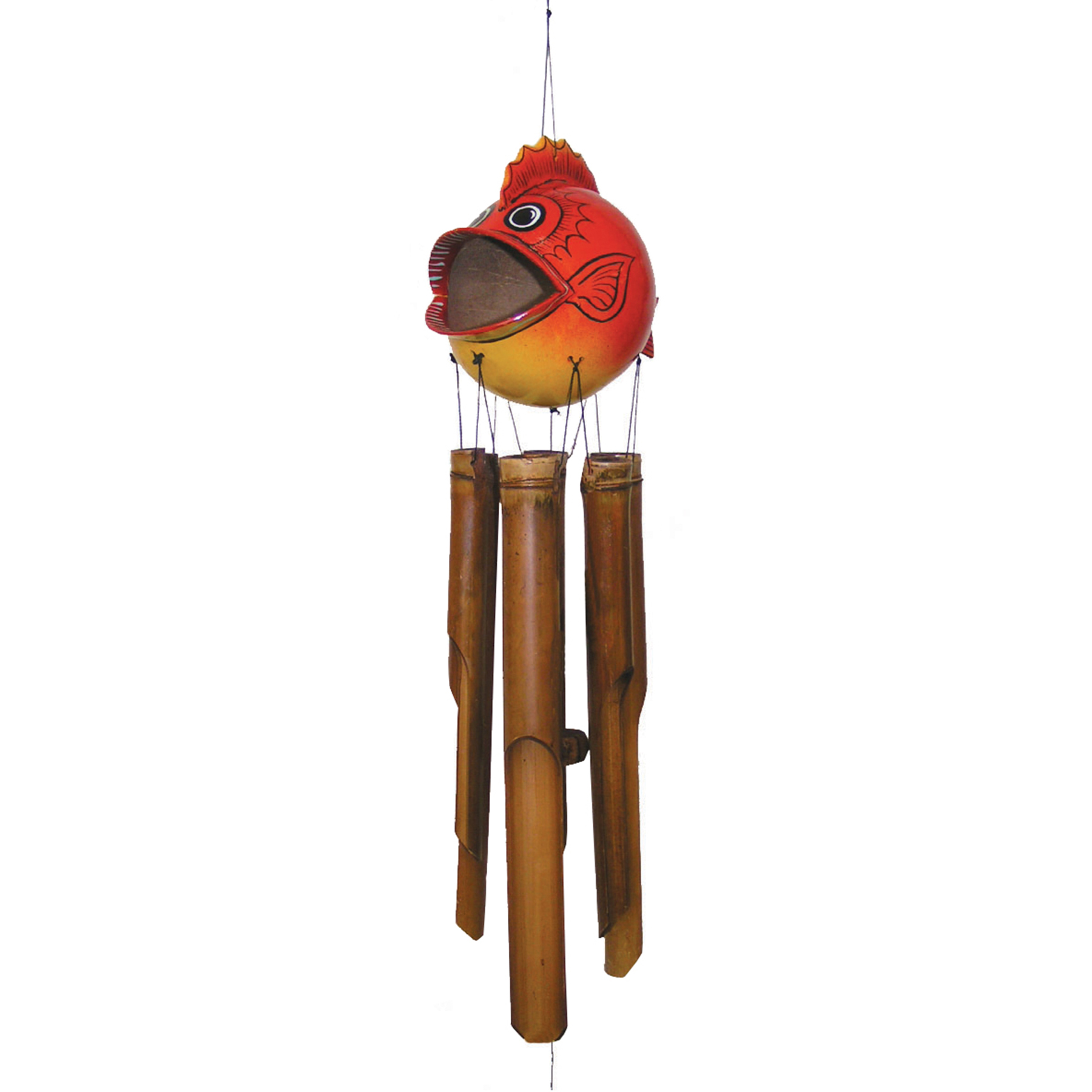 102MB - Blow Fish Bamboo Wind Chime