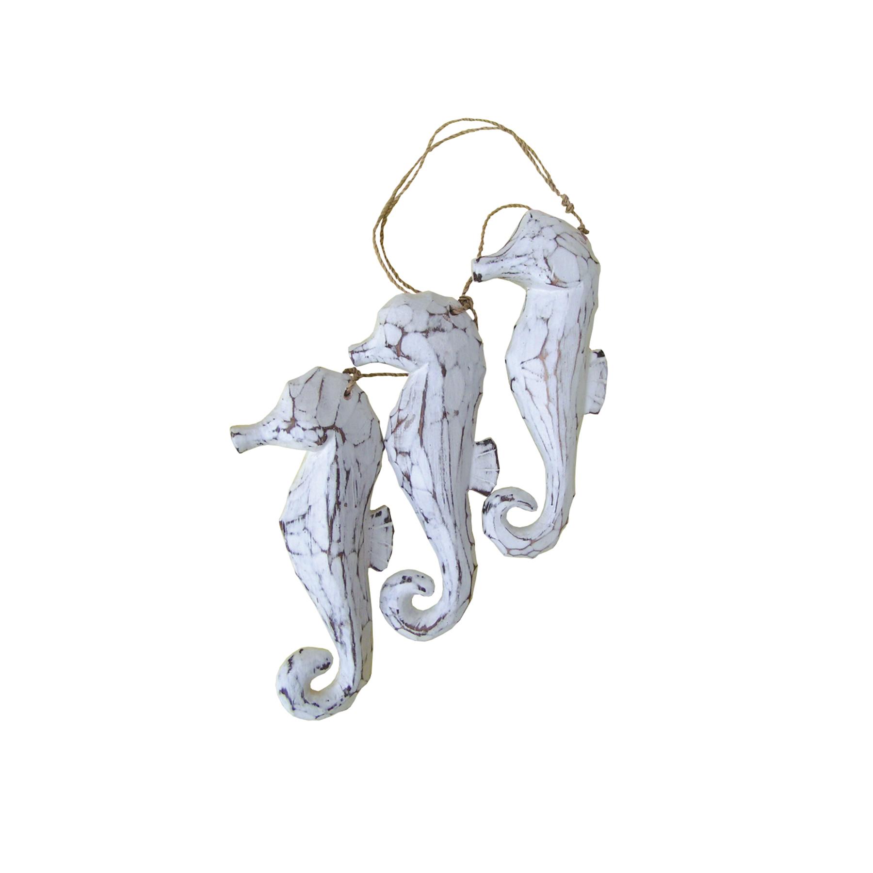 307W3 - 3 piece White Seahorse Rope