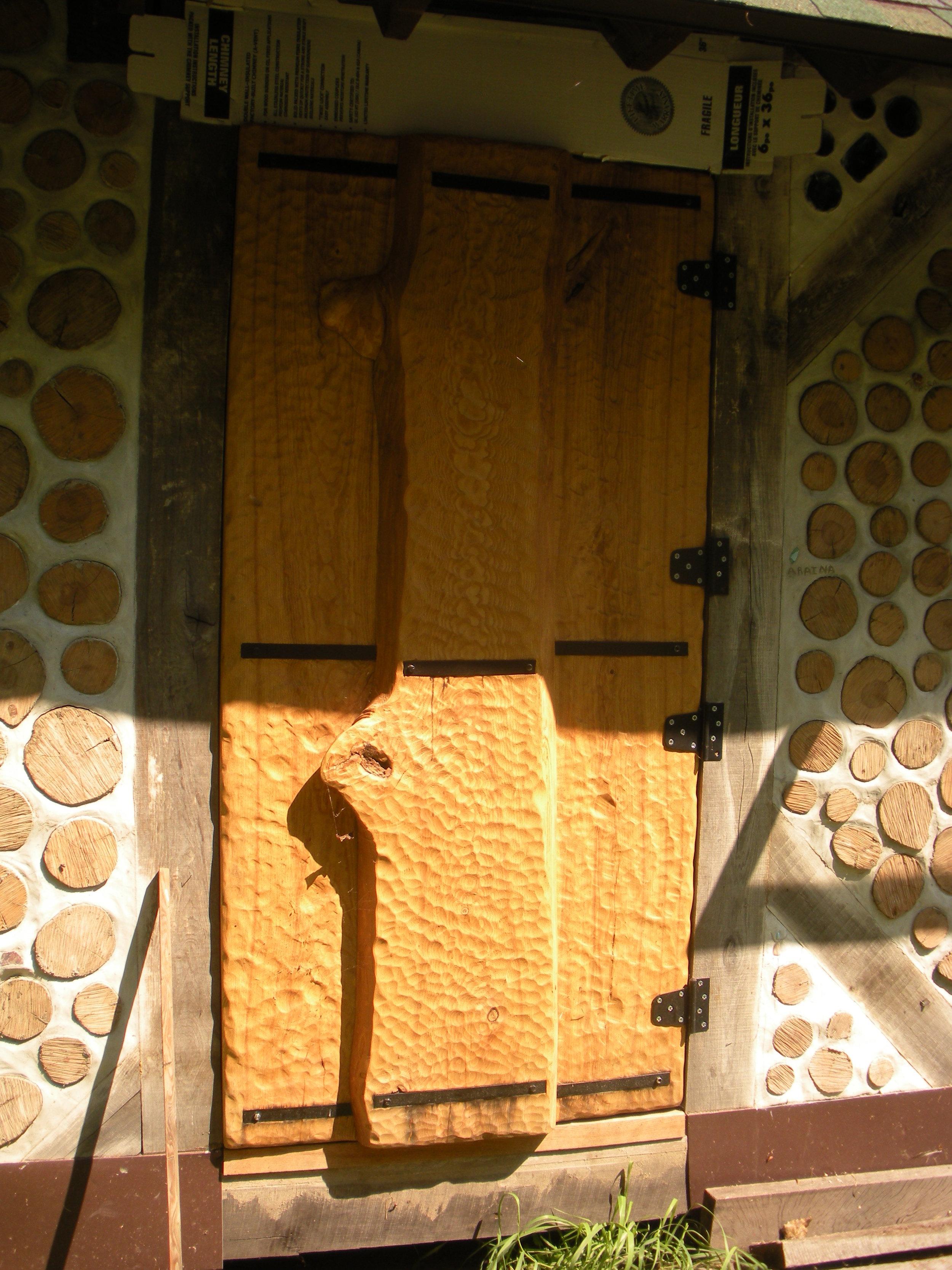 Slab Wood Door