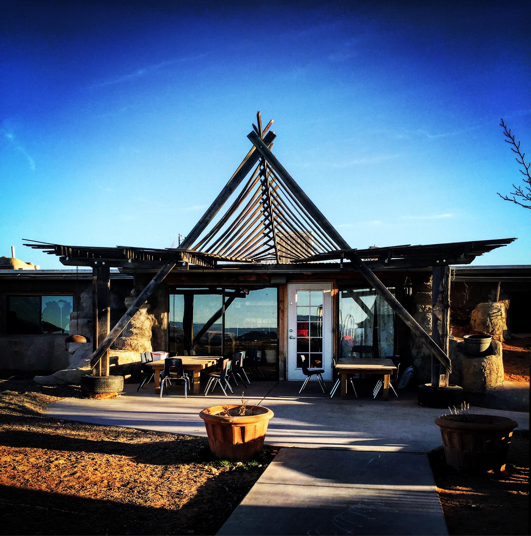Desert Star School earthship building.JPG