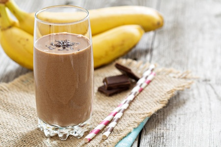 Chocolate Nut Butter Protein Shake