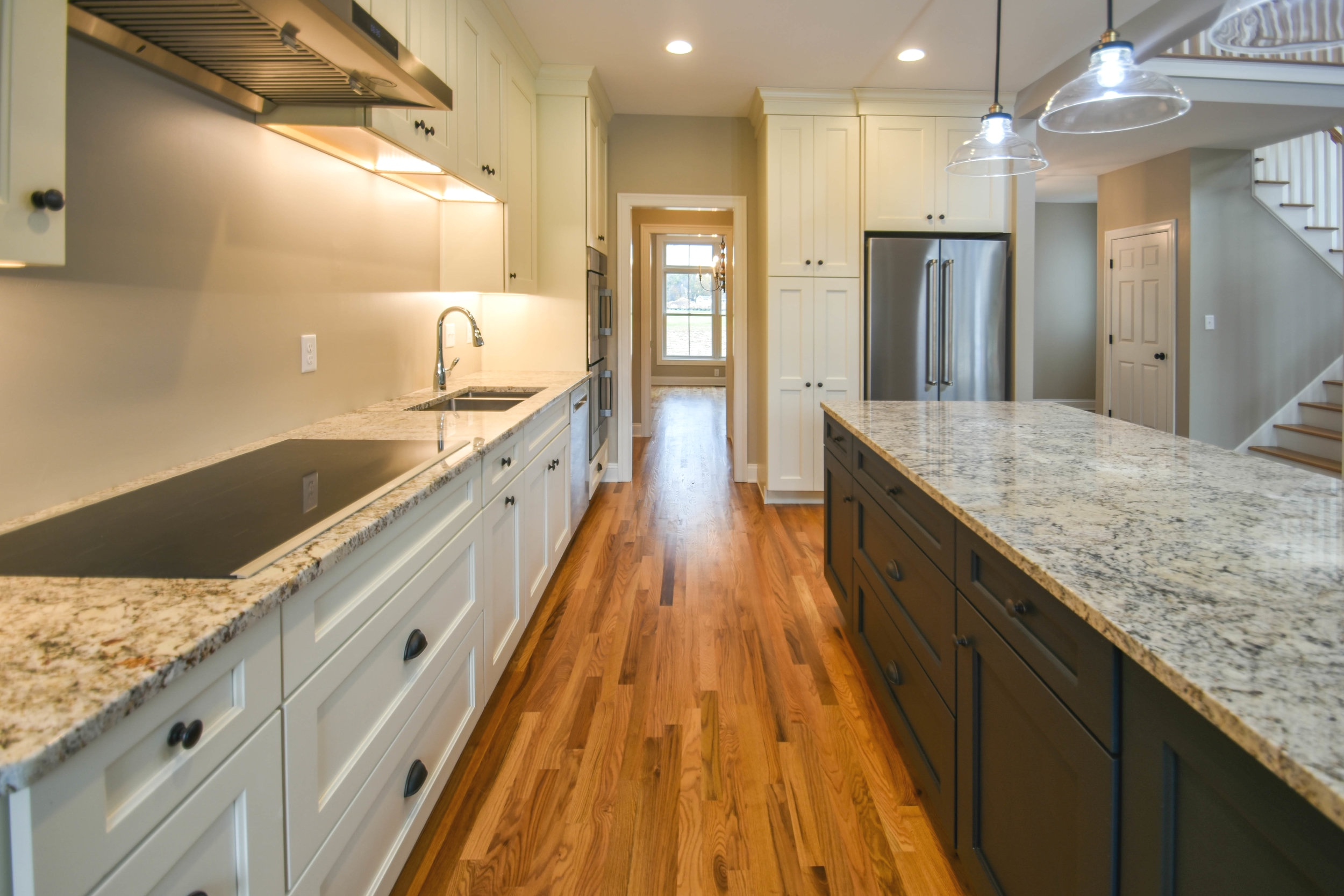 - Our collection of thoughtfully designed homes feature partially open floor plans, allowing for a flowing, multifunctional space while still maintaining the classic elements of a New England colonial.