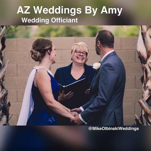 I enjoy every wedding I get to be a part of.  We laugh • We cry • We share memories  View my website www.azweddingsbyamy.com  #azweddingsbyamy  #mikeolbinskiweddings  #arizonaweddings #scottsdalewedding