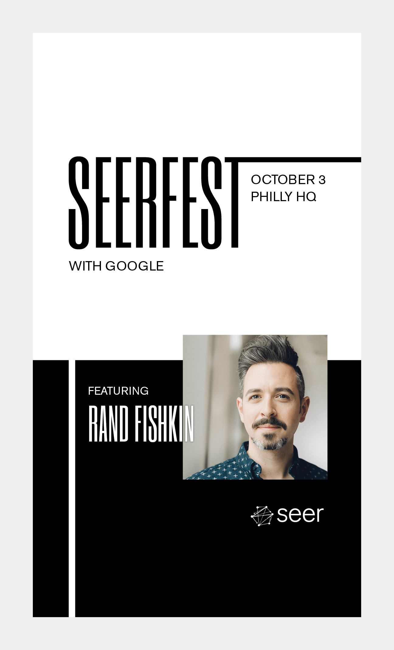 Event Creative:  Seerfest 2019
