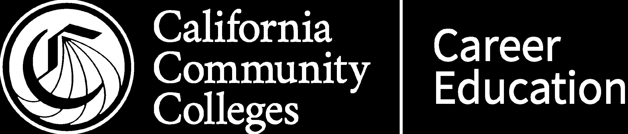 California Community Colleges Career Education logo