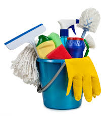 cleaning supplies -