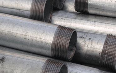 The process involves a machine-based cutting operation with a metal wheel that creates threads in the ends of pipes or cuts pipes.No blade is involved in the process. - contact store for info
