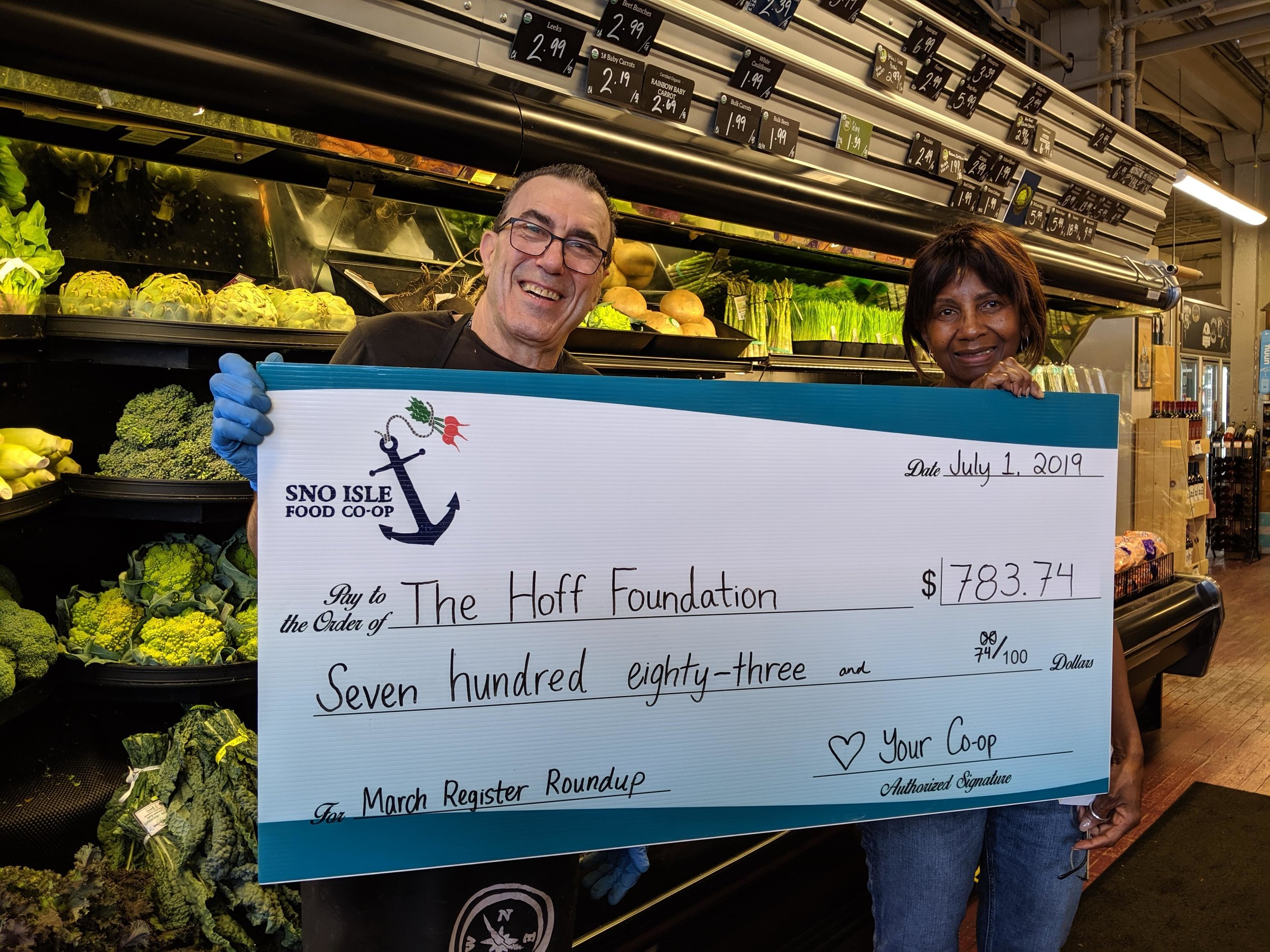 hoff foundation check.jpg