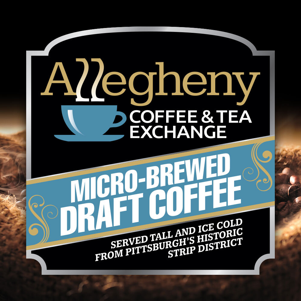 Micro-brewed Draft Coffee Served Tall and Ice Cold from Pittsburgh's Historic Strip District