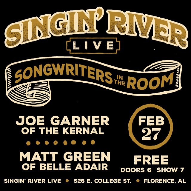 Stoked to travel home and play a boatload of new tunes with my good friend @kerncountry at @singinriver. A fun, free February night for all in the Florence area.
