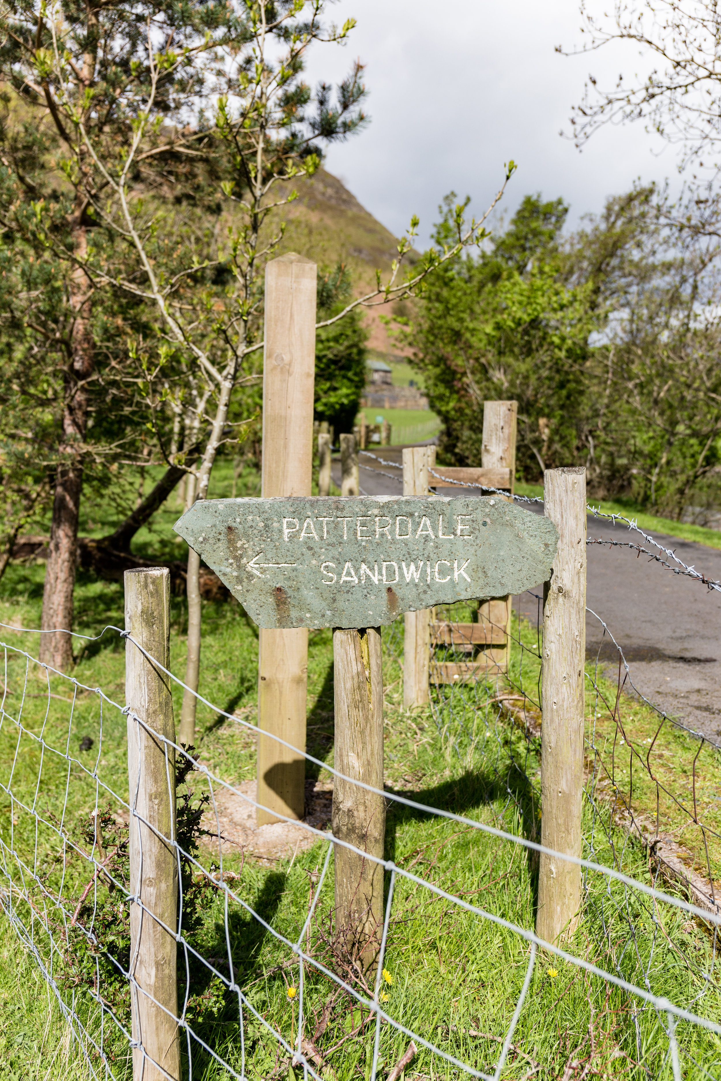 Well-signposted - heading to Patterdale!