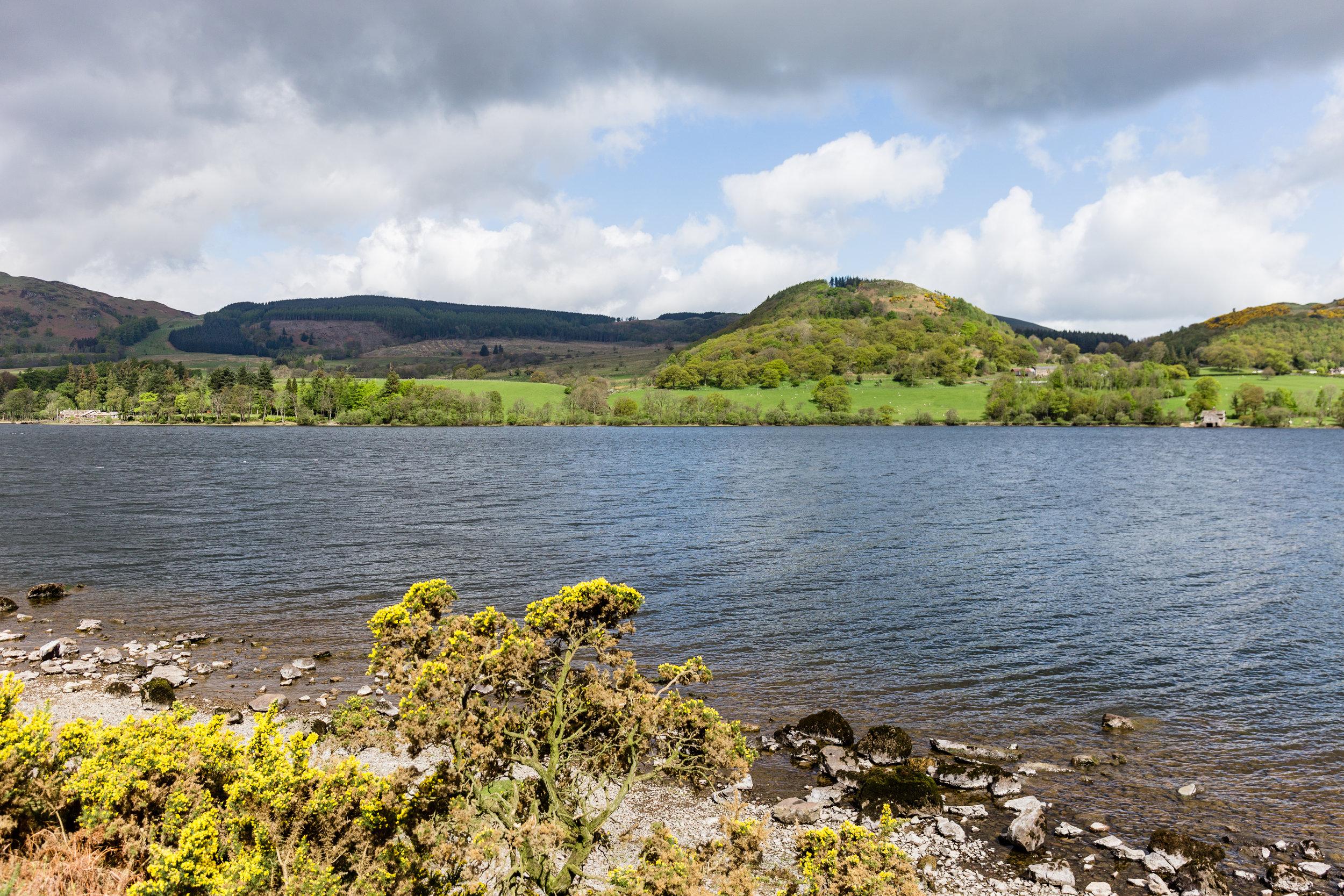Along Ullswater