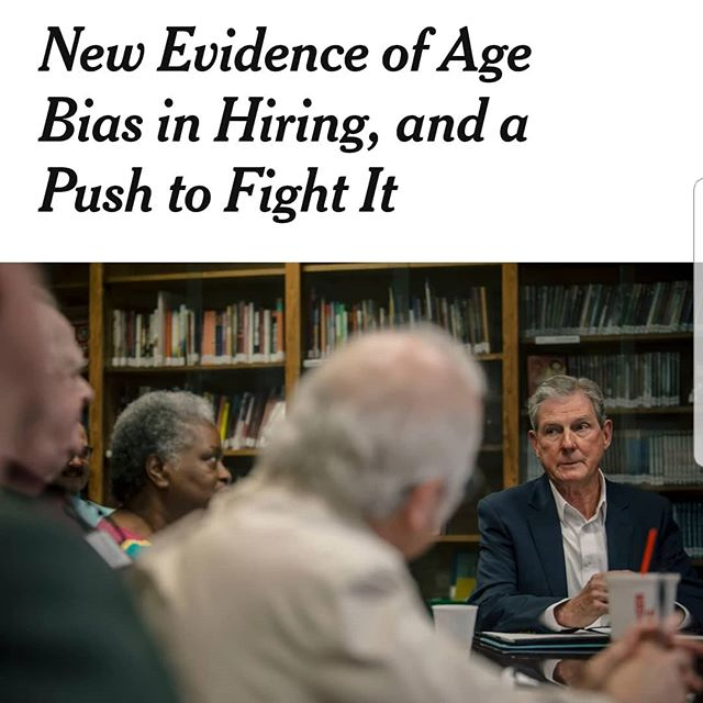 """😡""""More than half of workers over 50 lose longtime jobs before they are ready to retire, according to a recentanalysisby the Urban Institute and ProPublica. Of those, nine out of 10 never recover their previous earning power....(and,) on average, a 54 year old job hunter will be unemployed for nearly a year."""" - @nytimes"""