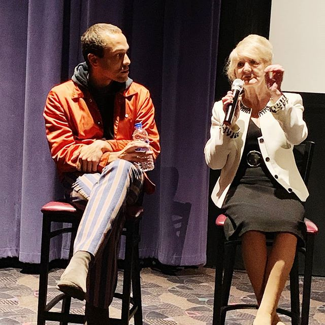 "🎥We held a private screening of our rough cut in SF past wknd w/our EP @chipconley. An attendee had this to say abt the film:😭😭 ""I was deeply moved by the film Duty Free. I laughed, I cried, and I was so proud of the son and his mother. I can only hope, if in each of their shoes, I would act with the same courage and love as they did. They bravely allow us to see the suffering of their personal journey, bringing to light the epidemic of ageism happening in the American workplace. Big bravo. Everyone needs to see this film. And join their fight to change legislation."" -Vanessa Inn"