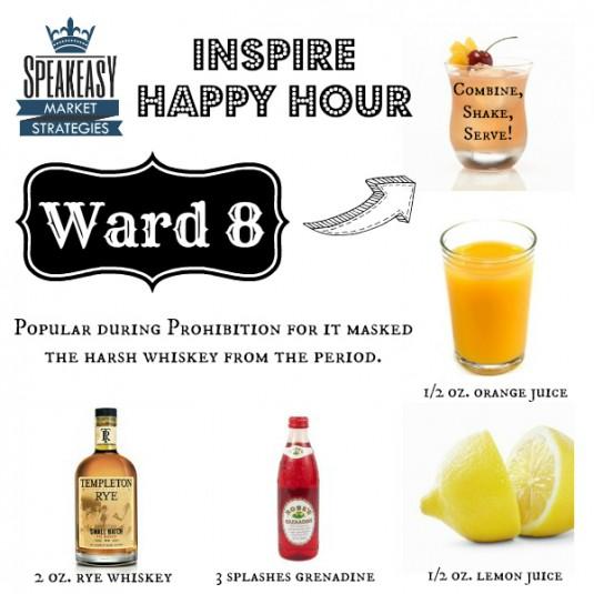 Speakeasy Ward 8 Cocktail