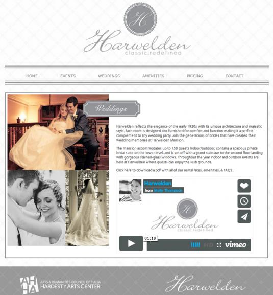 Harwelden Mansion Weddings Page