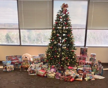 We donated over 70 gifts in our 4th Annual Holiday Toy Drive.