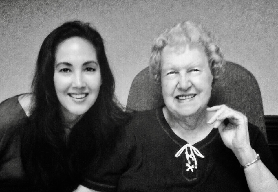 With DOLORES CANNON at QUANTUM HEALING HYPNOSIS TRAINING