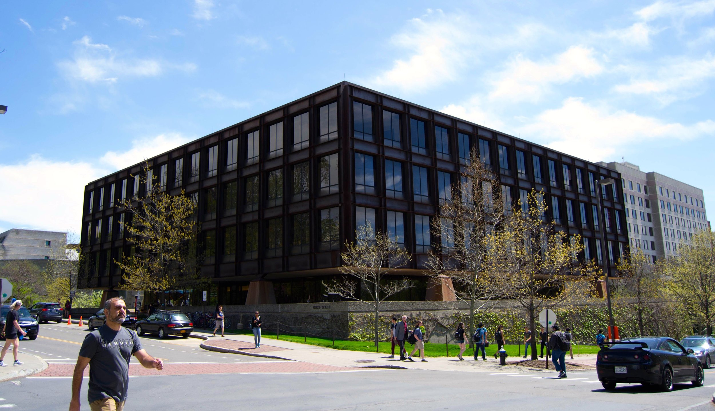 Uris Hall at Cornell University