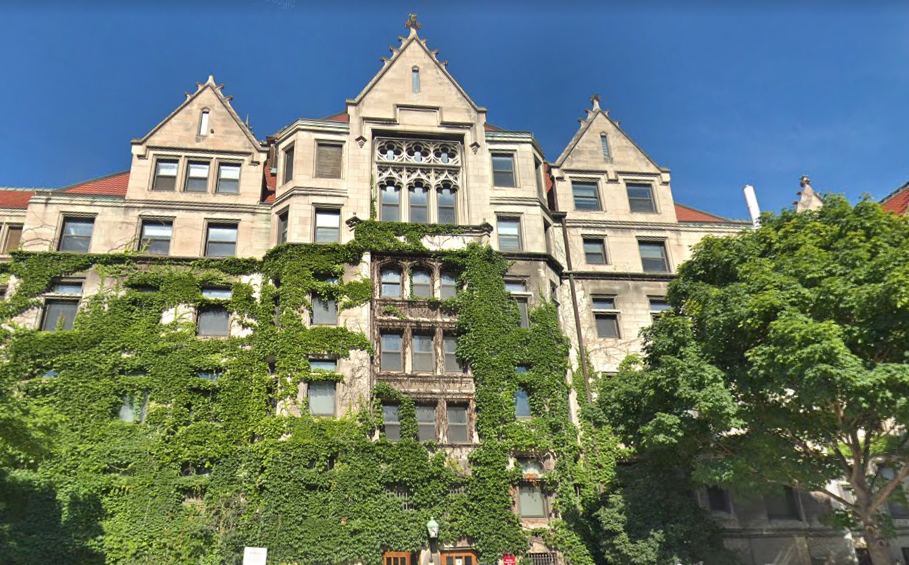 Kelly-Beecher-Green Hall at the University of Chicago