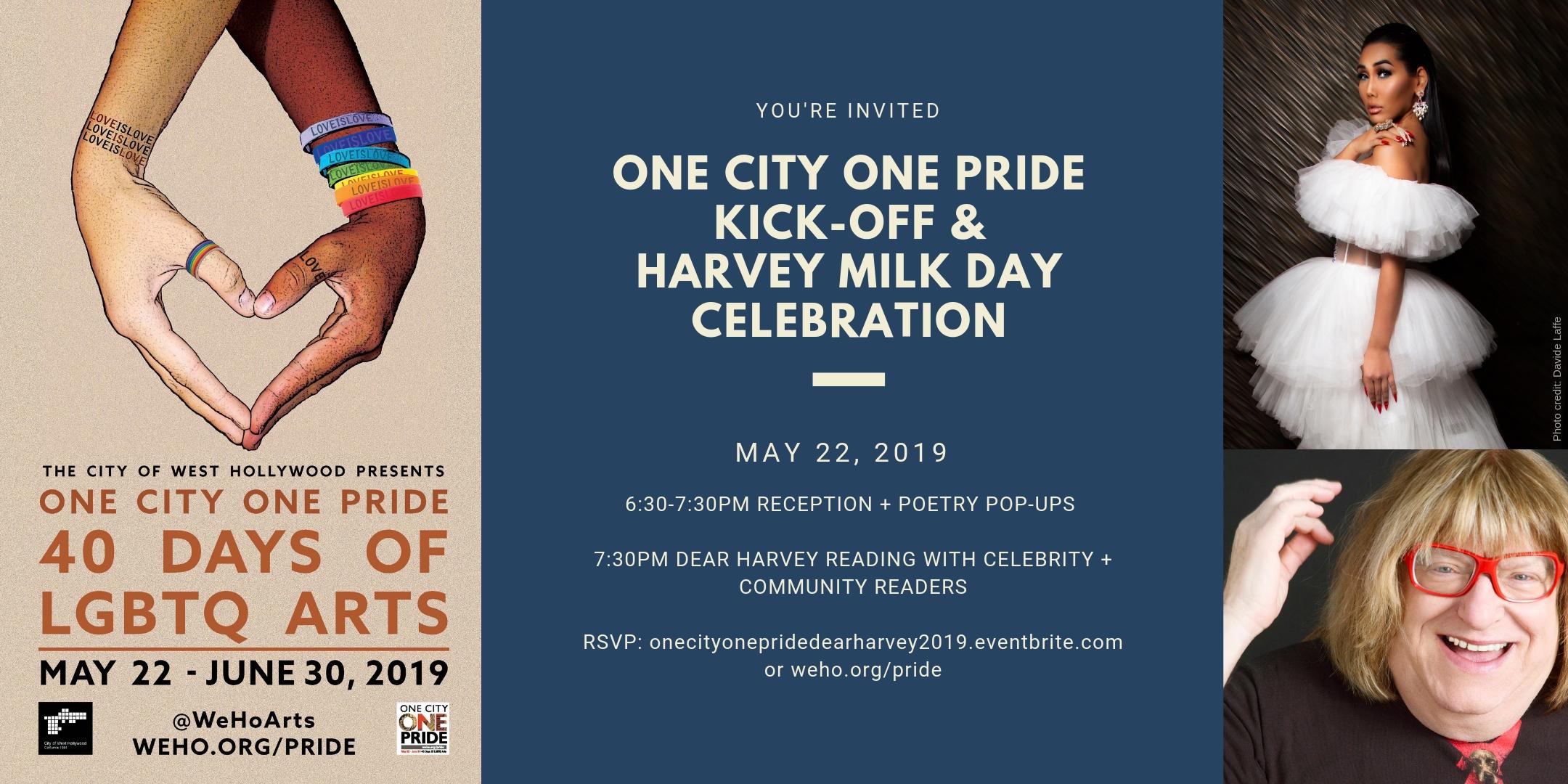 5-22-19 ONE CITY ONE PRIDE KICK-OFF & HARVEY MILK DAY CELEBRATION Event image.jpg