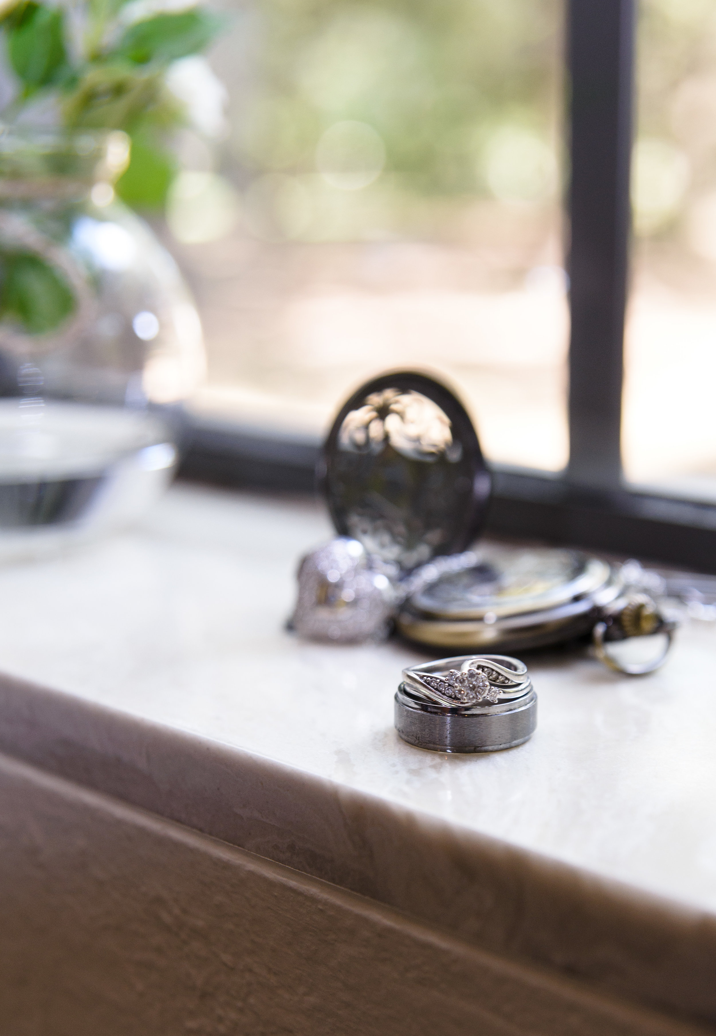 Photographer in OKC wedding day details ring pocket watch