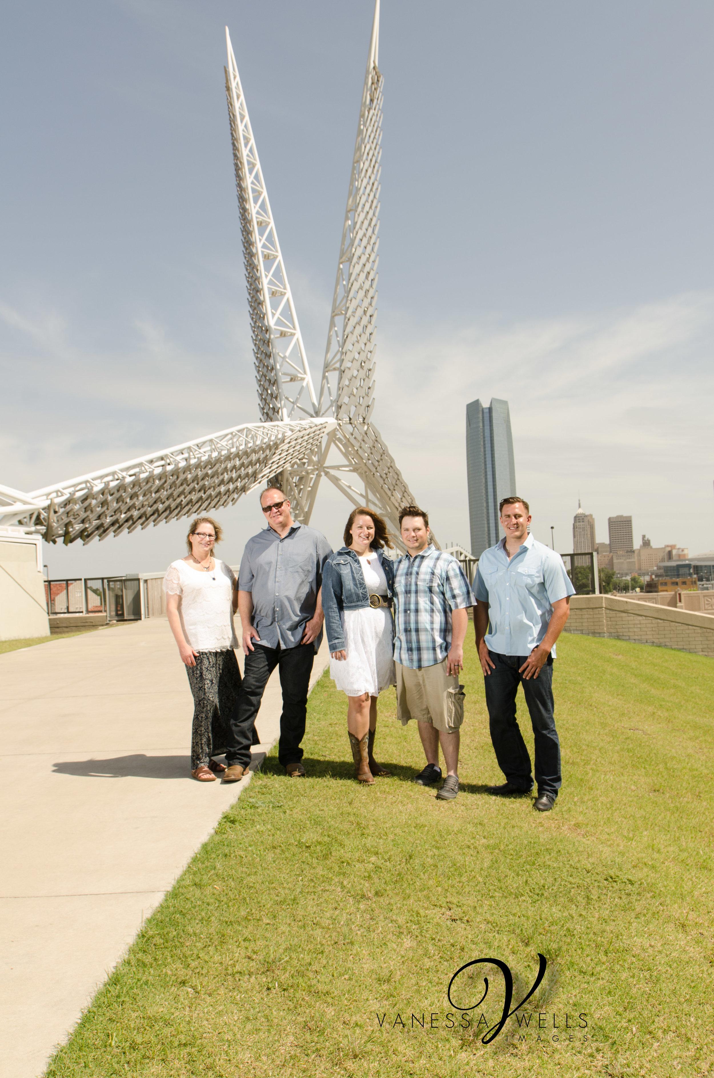 Photographer in OKC Oklahoma Skydance Bridge
