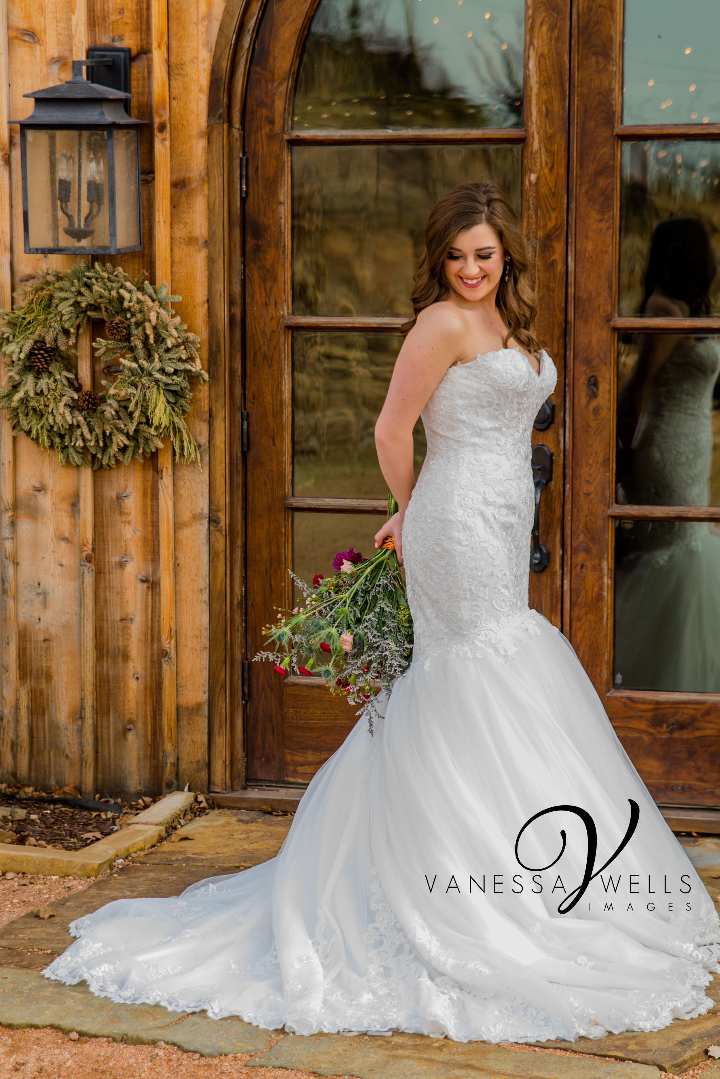 Destination Wedding Photographer in Stillwater OK Rosemary Ridge Bridal Picture