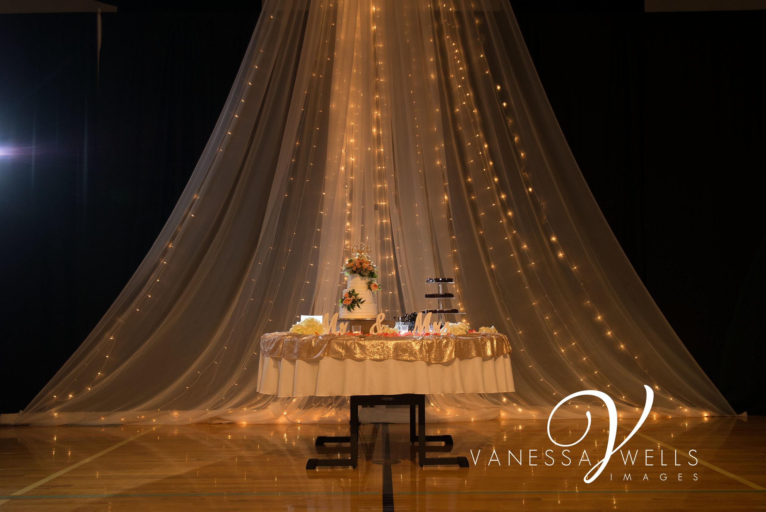 OKC Wedding photographer, Wedding cake