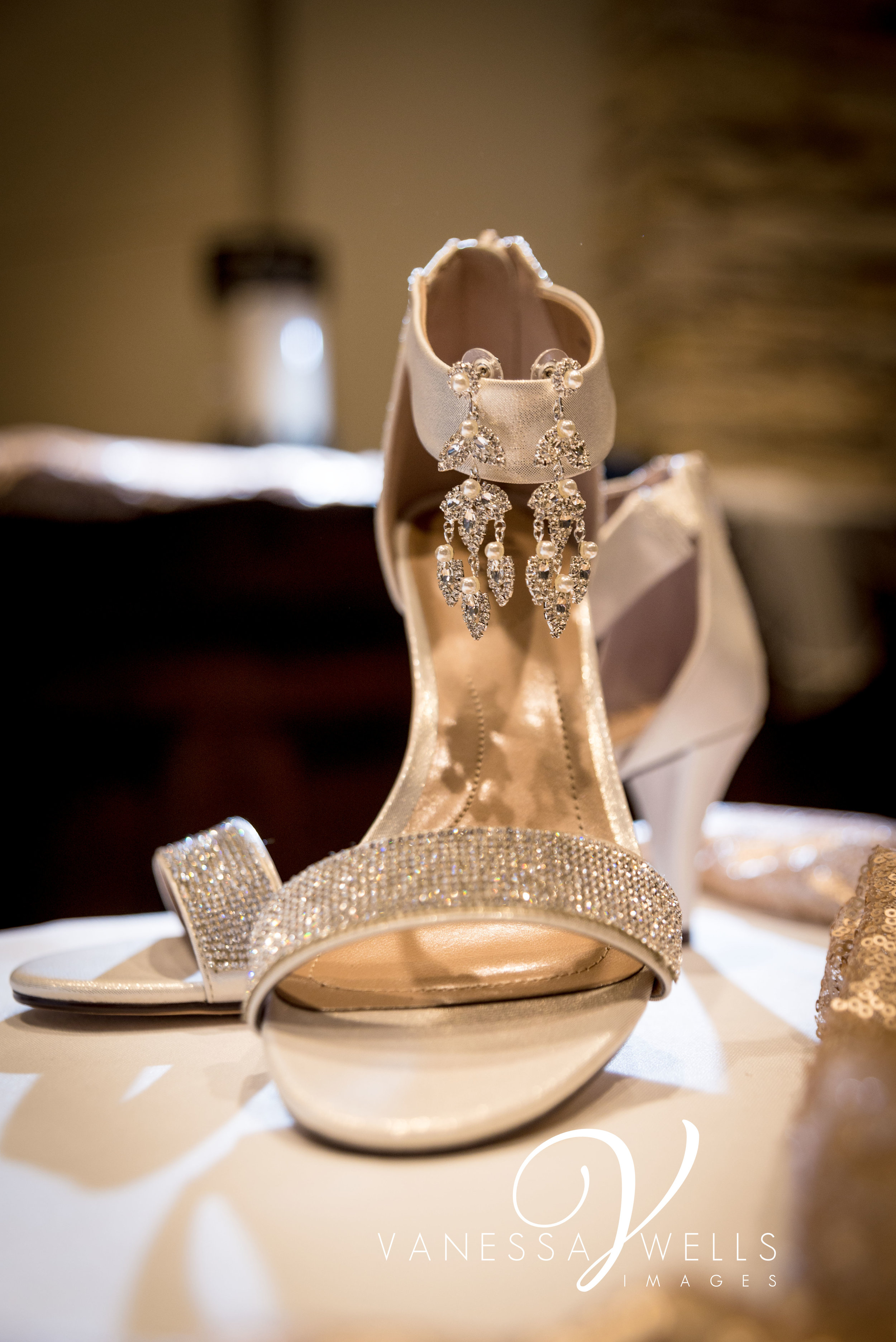 OKC Wedding Photographer, Shoes and Jewelry, Details