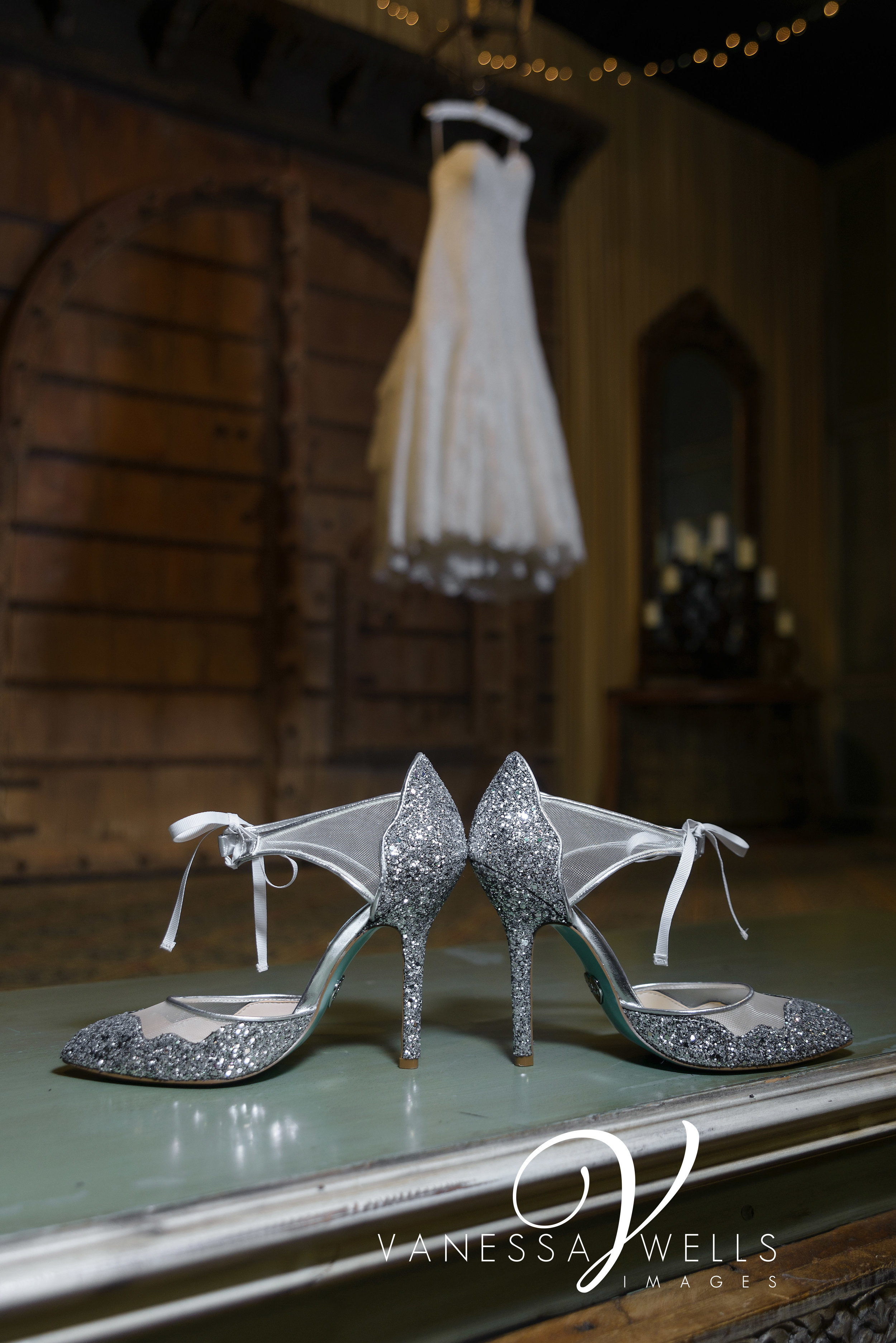 The Palace Event Center, OKC Wedding Photographer, Betsy Johnson Shoes, The Bridal Boutique