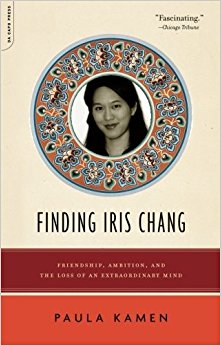 "Finding Iris Chang: Friendship, Ambition and the Loss of an Extraordinary Mind - A Booksense Pick, Harvard Bookstore Bestseller, ""favorite book of 2007″ from the Chicago Tribune. Called ""a moving bio"" by Entertainment Weekly (12/19/08)The book is relevant to our times in profiling my friend Iris Chang, the author of the bestselling ""Rape of Nanking,"" as inspiration for fighting for social justice. But it goes beyond that to make the case for activists and journalists addressing ""toxic"" subjects to take deliberate steps for self-care and preservation. The book chronicles my real-life search to connect the dots about her mysterious 2004 suicide, and, meanwhile, clear up rampant misunderstandings about the bipolar disorder which likely claimed her life. The book is based on a eulogy I wrote about her for Salon.com."