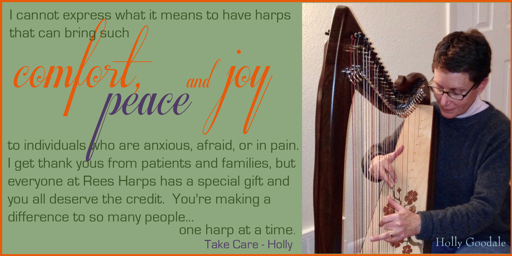Mariposa Harp and Holly Goodale