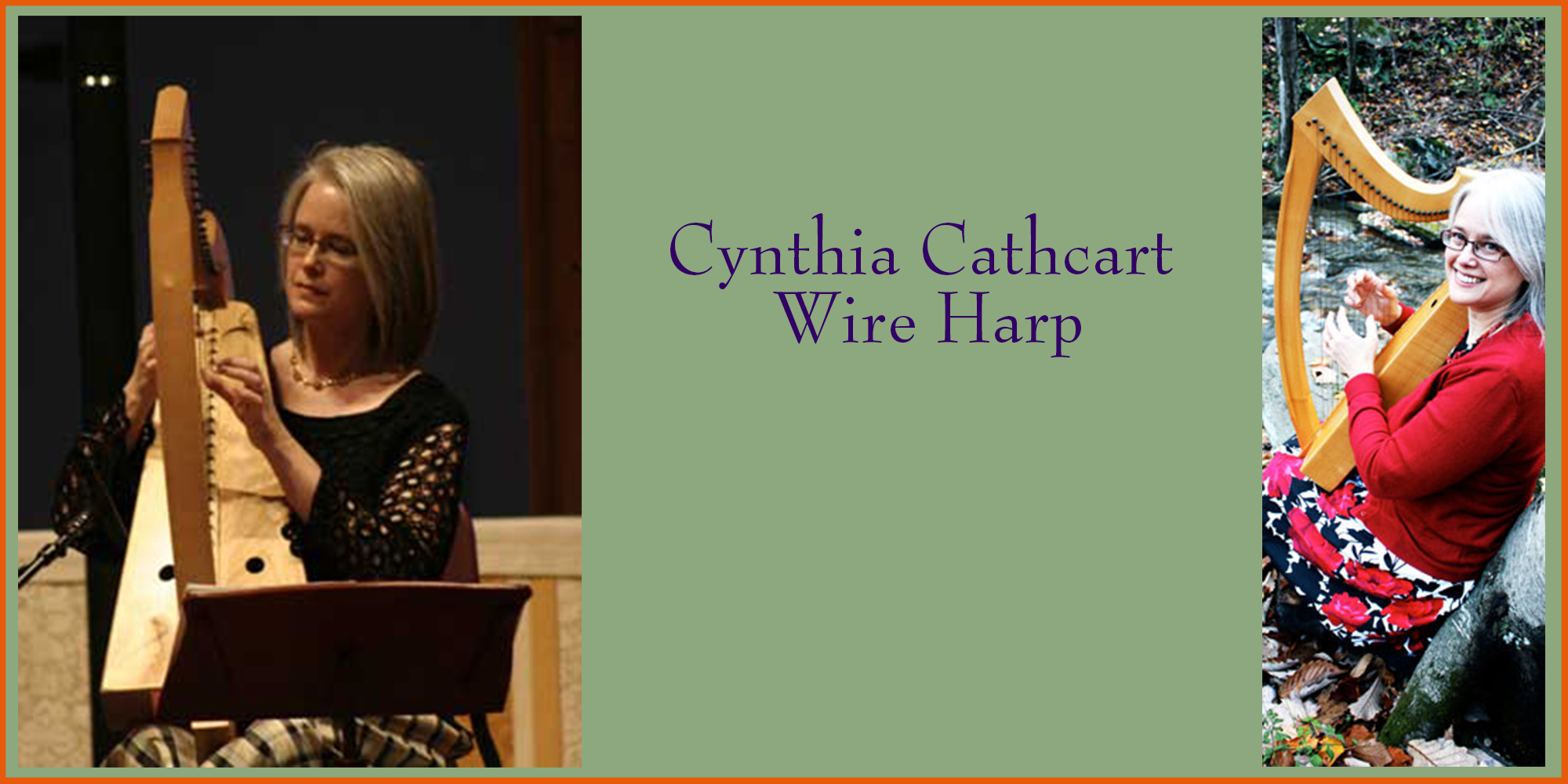 Cynthia Cathcart on Wire Harp