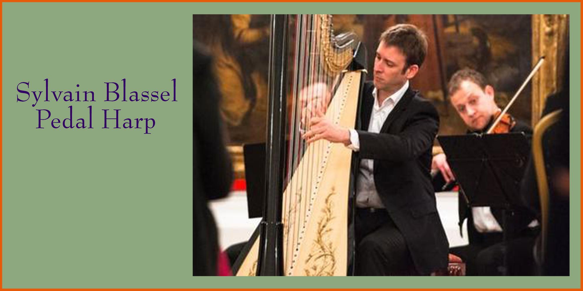 Sylvain Blassel on Pedal Harp