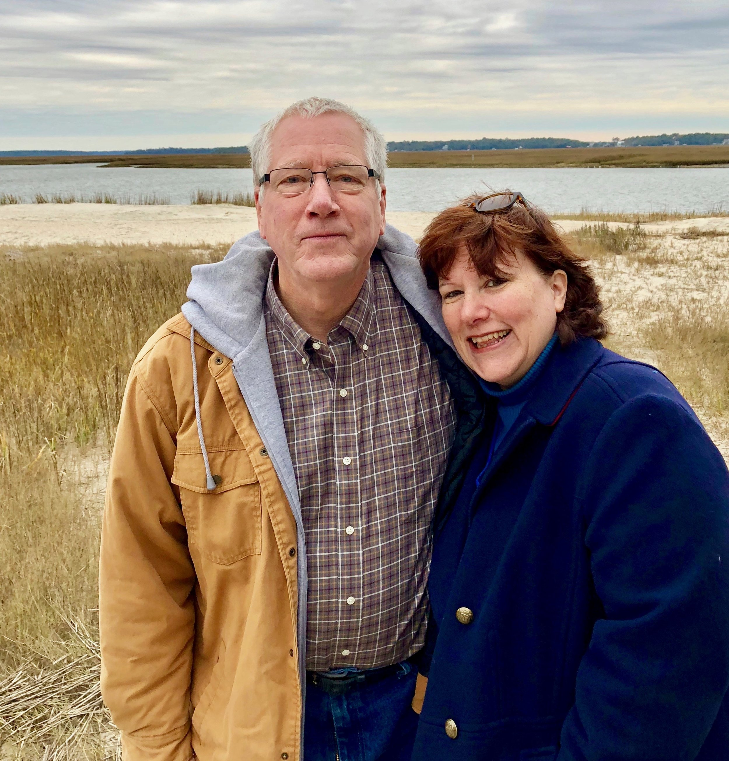 William & Pamela at Edisto Beach