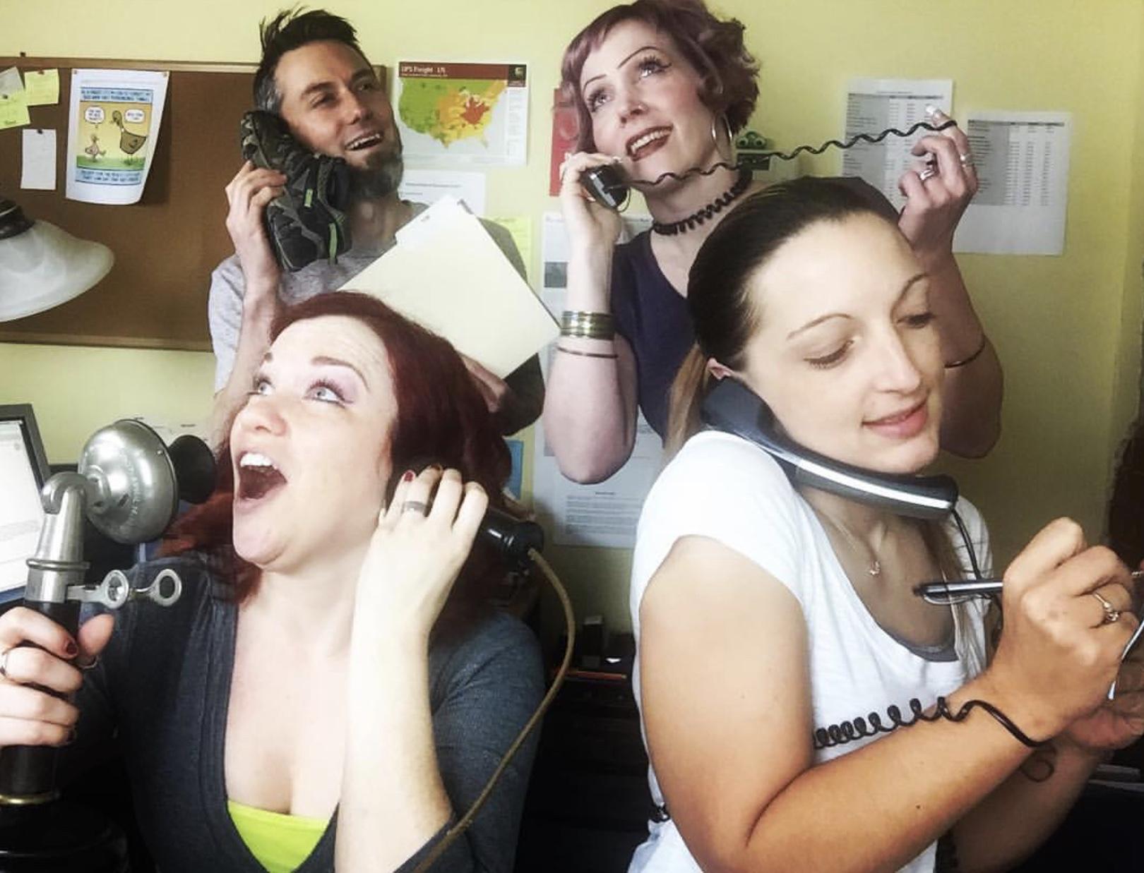 Garen, Rebecca, Melissa, and Ashley