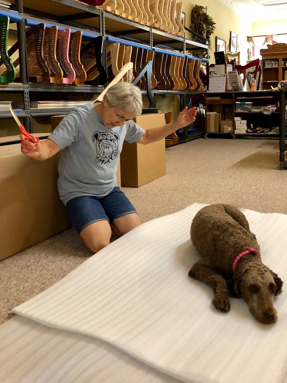 Bark! Ellie Speaks - Rees Harps Inc
