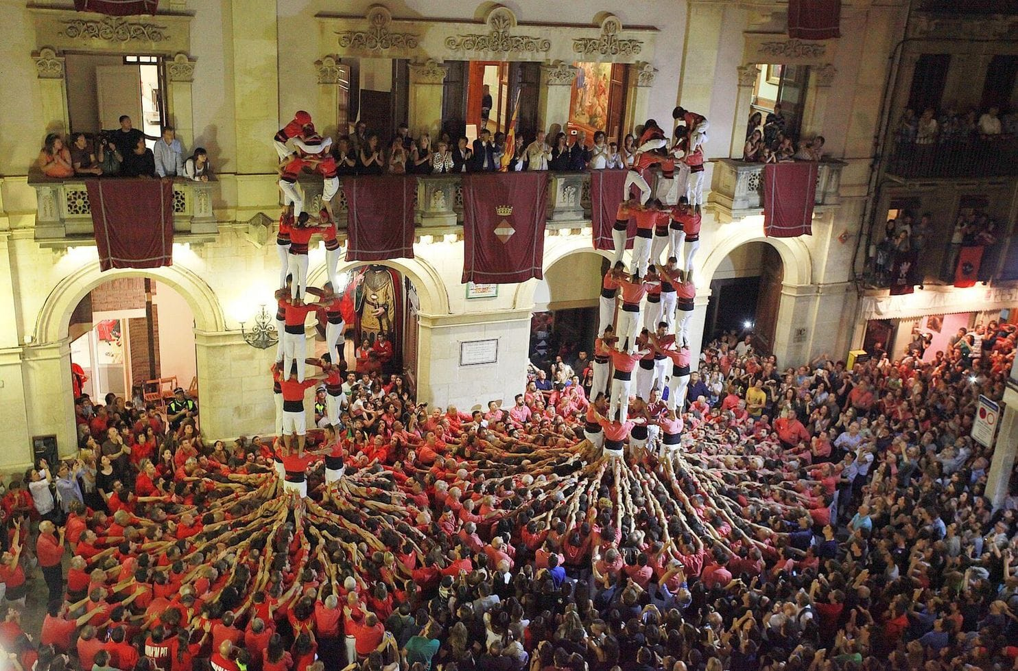 Catalonia's human towers to pop up on the Mall