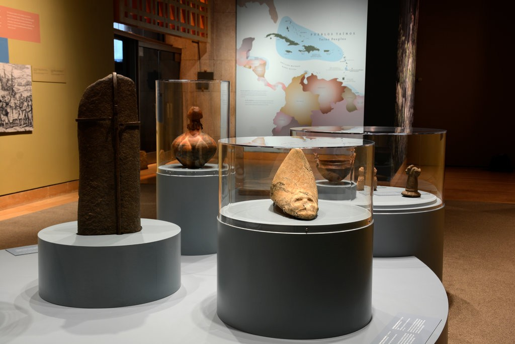 "The Smithsonian Latino Center collaborated on the exhibition ""Taíno: Native Heritage and Identity in the Caribbean"" with the National Museum of the American Indian. It is on view in New York through October 2019.CreditCreditoshua Voda/National Museum of the American Indian"
