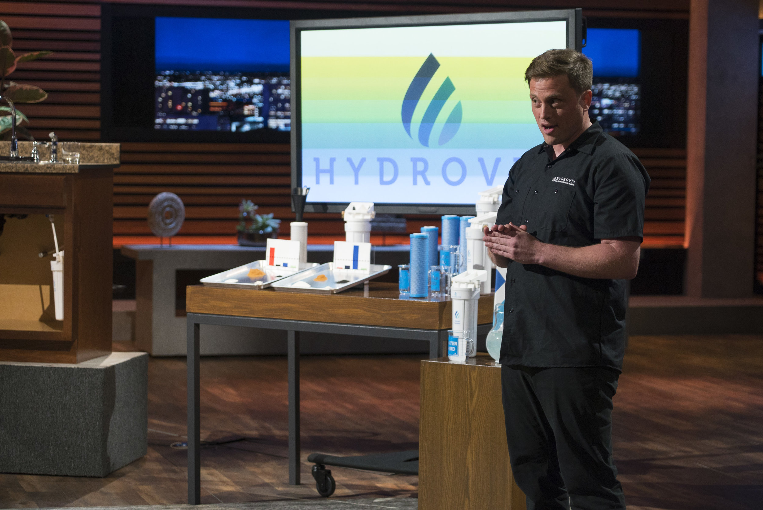 With only 1 week notice to pitch a Shark Tank appearance by clean water client,  Hydroviv , Carnes&Co. secured coverage in 10 local and national outlets including  CNBC . The appearance, airing during prime time on ABC, netted Hydroviv a deal with Mark Cuban for $400,000 for 20% equity in the rapidly growing and industry-breaking company. Inspired by Flint, Michigan's water crisis, Dr. Eric Roy was inspired to engineer customized water filters by region, to keep us all in clean, safe water.